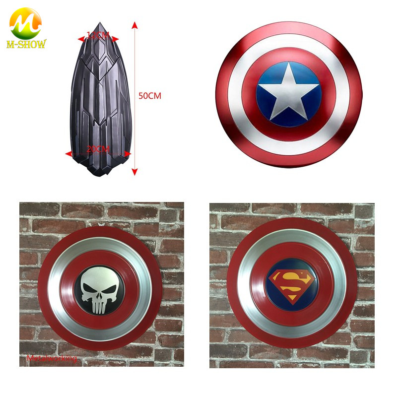 Captain America Shield The Avengers Civil War New 1:1 pvc pu Metal shield Cosplay captain america Steve Rogers Shield Replica
