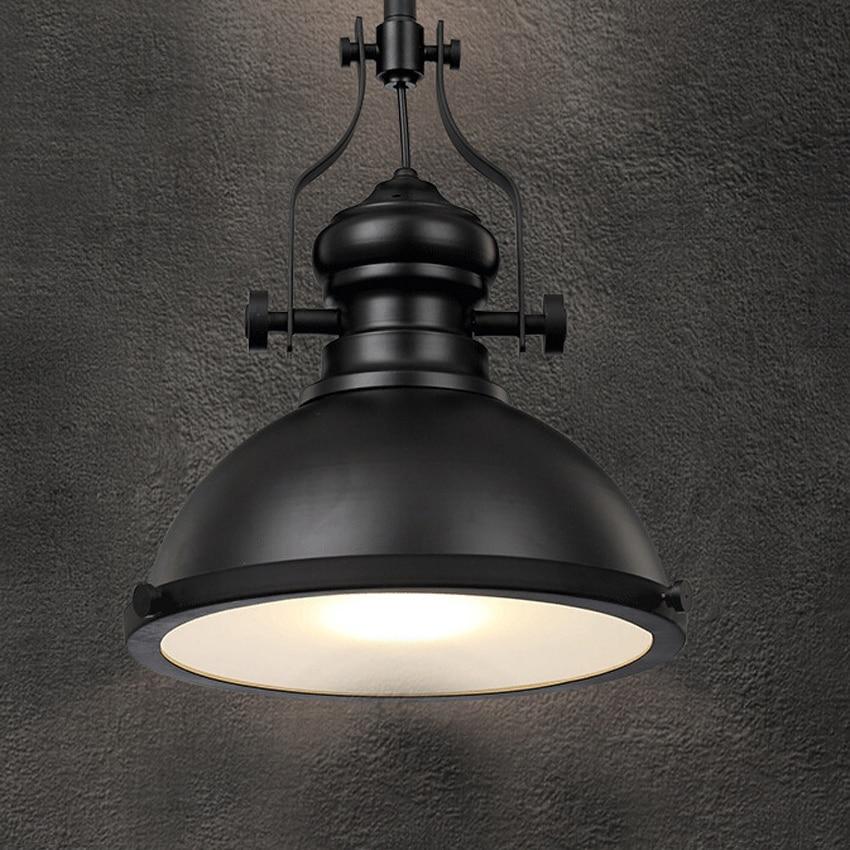 Loft Vintage Led Pendant Light Industrial Retro Heavy