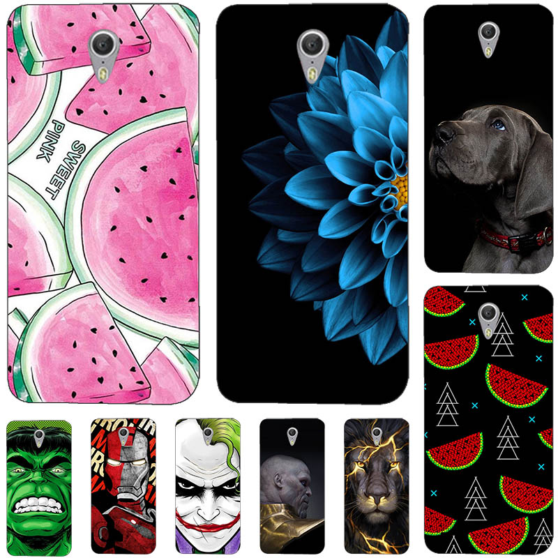 Lovely Fashion Phone Cases For Lenovo ZUK Z1 hard plastic Material Phone Case Back Cover Coque Print painting Flower style