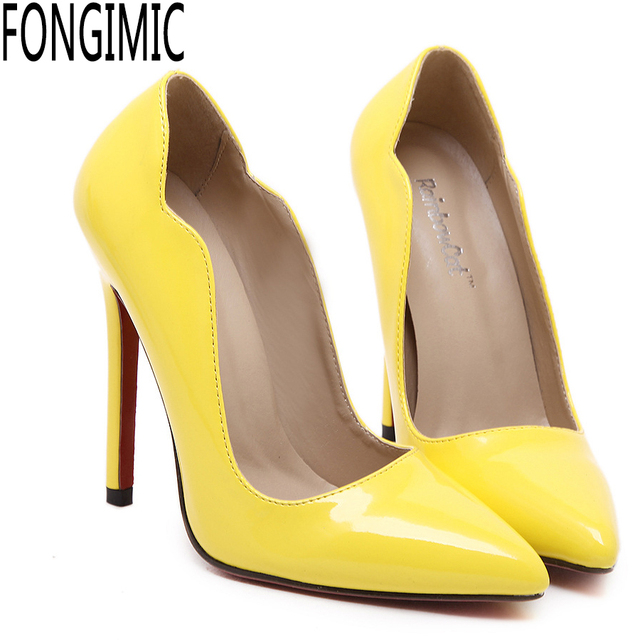 Shoes For Women Pump All Match Fashion Stiletto Heel Comfort Pointed Toe Heels