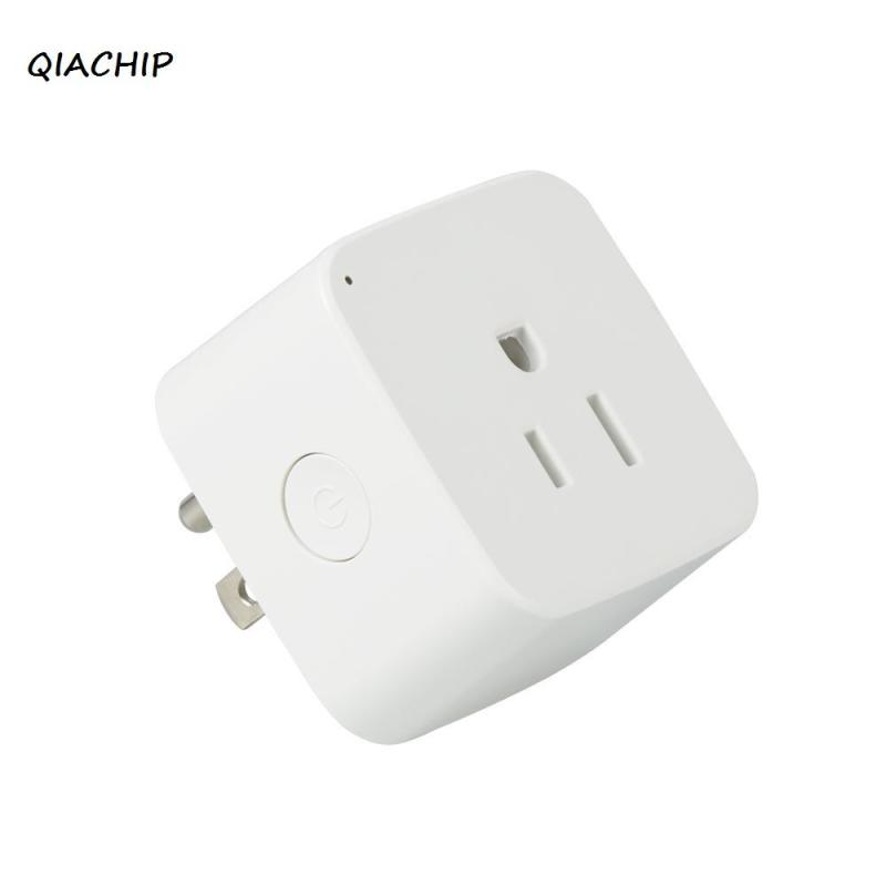 QIACHIP Smart Plug Smart Home Socket Work with Amazon Alexa WiFi App Remote Control light switch for Smartphone Tablet AC 220V qiachip 220v 110v wifi smart swich app wireless remote control light wall switch touch panel work with amazon alexa uk plug h4