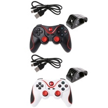 OOTDTY T3 Wireless Bluetooth 3.0 Gamepad Game Controller + Holder Bracket For Android Phone
