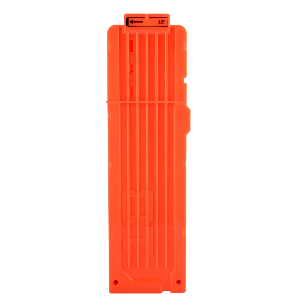 Surwish Soft Bullet Clips für Nerf Toy Gun 18 Kugeln Munition Patrone Dart für Nerf Gun Clips - Orange