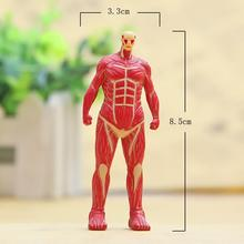 Cute Attack On Titan Cute Figures Japanese Anime Attack On Titan Colossal PVC Action Figure Toys Doll Collection Model Toy