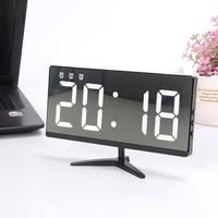 Digital Alarm Clock Dimmable Screen Digital Clock 3 Brightness With Date And Temperaturefor Display For Kids Bedroom