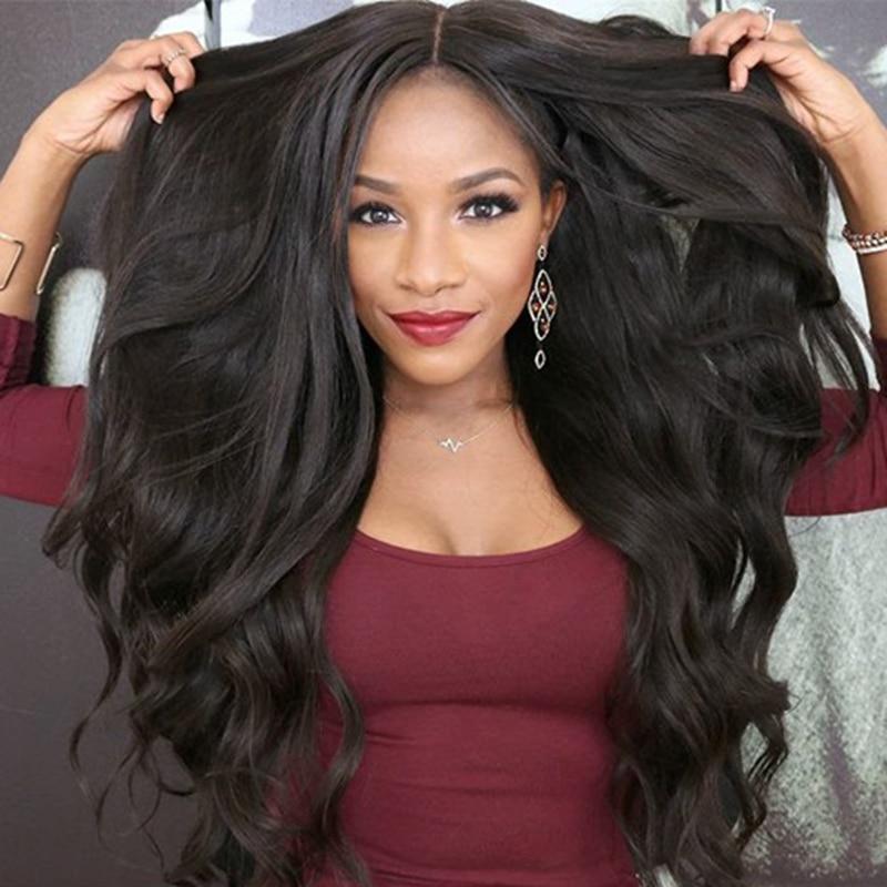 Brezplačna dostava 100% nepredelani človeški lasje kratek Bob - Človeški lasje (za črne)