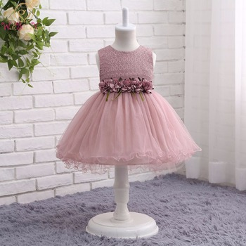 Walk Beside You TUTU Flower Girl Dresses Pink Green Gray Short Front Long Back Pageant Dresses for Girls Glitz Holy Communion fashion green and pink rainbow flower fairy costume for girls birthday cupcake layered dresses