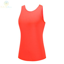 2016 Australia Popular Women Overlapping Dew Back Tank Top Sports Yoga Fitness Running Lifes Jogging Gym Urltra-Light Vest Sexy