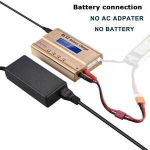 Image 3 - HTRC imaxB6 V2 80W LiPo Battery Charger LED Balance Discharger  6A DC11 18V for Lipo Li ion LiFe NiCd NiMH LiHV PB Smart Battery