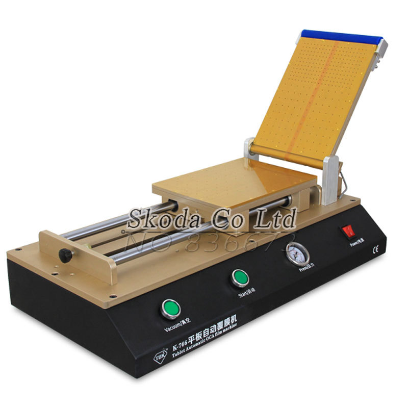 Latest 12 OCA Laminating Machine for Ipad samsung tablet LCD touch screen repair Film Laminator
