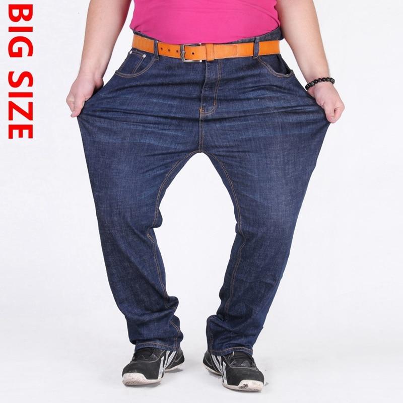 Large yards nutty loose elastic 350 pounds plus fertilizer increased jeans waist men 150kg -180kg Oversized trousers nutcase little nutty superstar xs