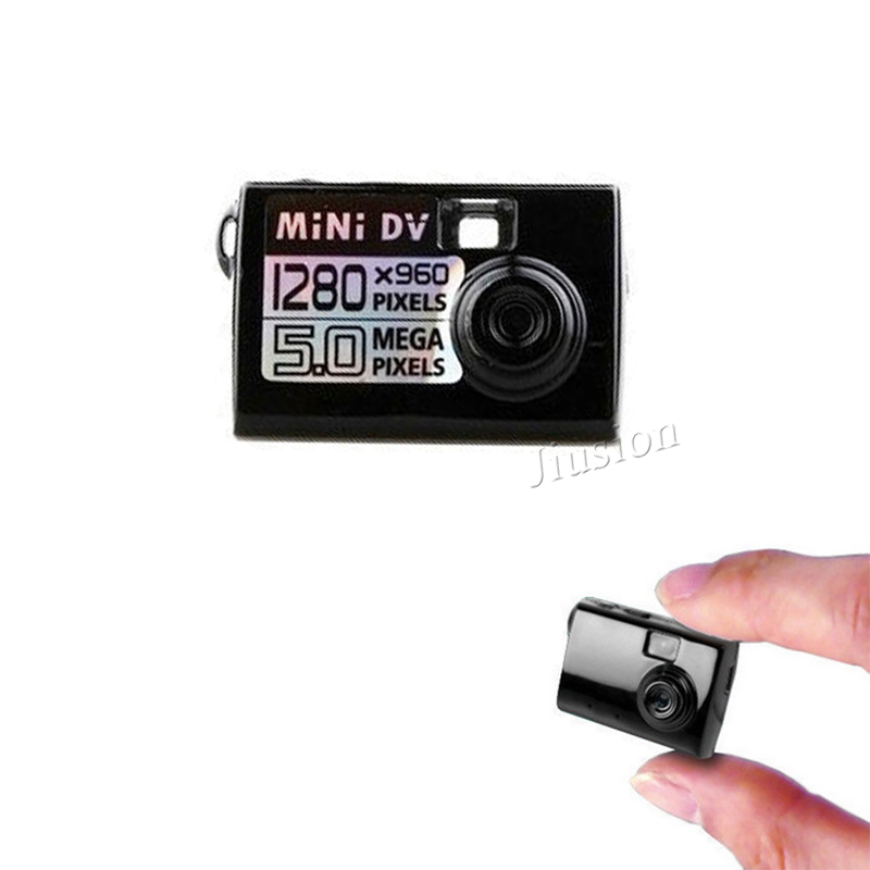Mini DV Camera 5 Mega Pixels 1280x960 Portable DV Micro Camcorder Small Video DVR Cam Nanny Recorder Business Study Recording