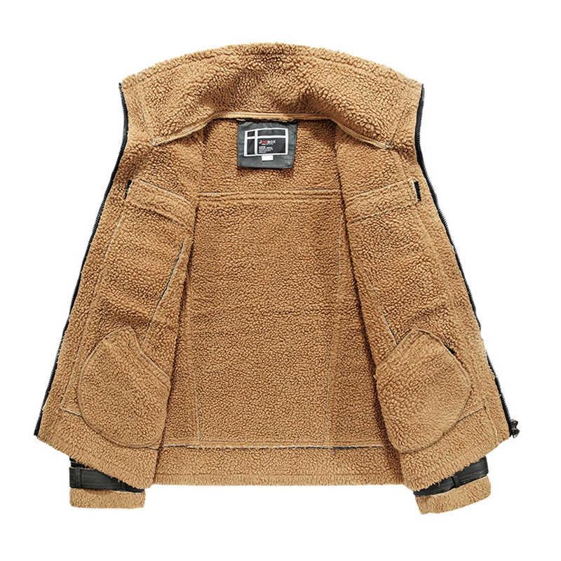 2018 брендовые осенние зимние мотоциклетные кожаные куртки мужские с меховым воротником Кожаные мужские кожаные куртки мужские деловые повседневные пальто