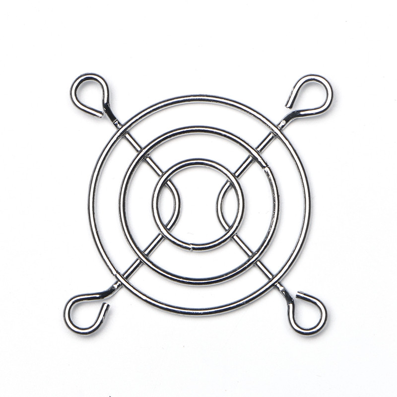 DuoWeiSi 3d принтер 5 см крышка вентилятора металлический забор крышка вентилятора защитная решетка металлическая (железо см) покрытие крышка ве...