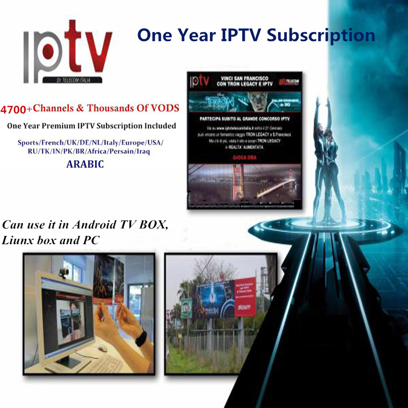 Image 4 - French IPHD iptv subscription+4700 Channels for Europe Arabic France Belgium IPTV m3u for android TV box Smart TV box-in Set-top Boxes from Consumer Electronics