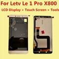 Alta qualidade para letv leeco le 1 pro le um Pro X800 LCD Display + Touch Screen Digitador Assembléia Substituição acessórios