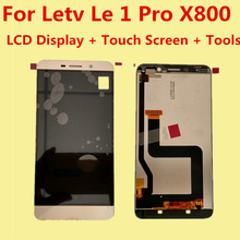 For Letv LeEco Le 1 Pro Le One Pro X800  LCD Display + Touch Screen  100% Original Digitizer Assembly Replacement Accessories