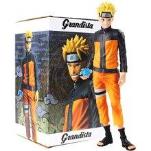 28cm Anime Naruto Shippuden Uzumaki Figure jouets Grandista Shinobi Relations Figurine PVC modèle poupées à collectionner