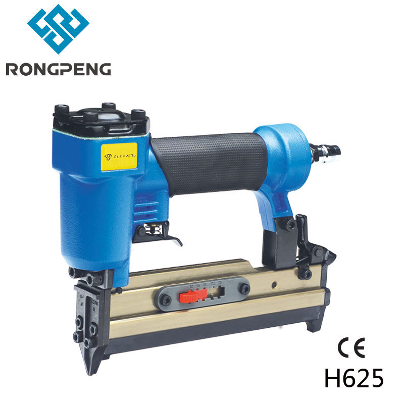 RONGPENG PROFESSIONAL PIN NAILER H625 WITH GA23 NAILS PNEUMATIC TOOLS rongpeng professional brad nailer gun f50b with quick clear nose ga 18 f nails pneumatic tools