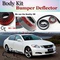 Bumper Lip Deflector Lips For Lexus GS 250 300 350 400 430 450h For TOYOTA Aristo Front Spoiler Skirt / Body Kit / Strip