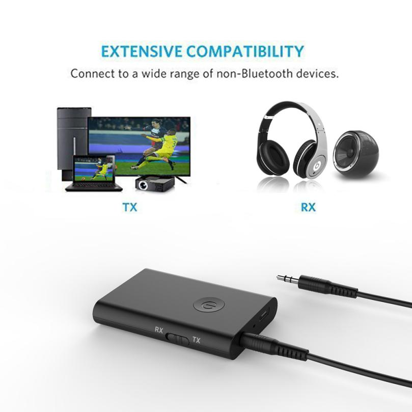 Good Sale USB 3.5mm Bluetooth Wireless Stereo Audio Music Speaker Transmitter Adapter Hot Sep 28