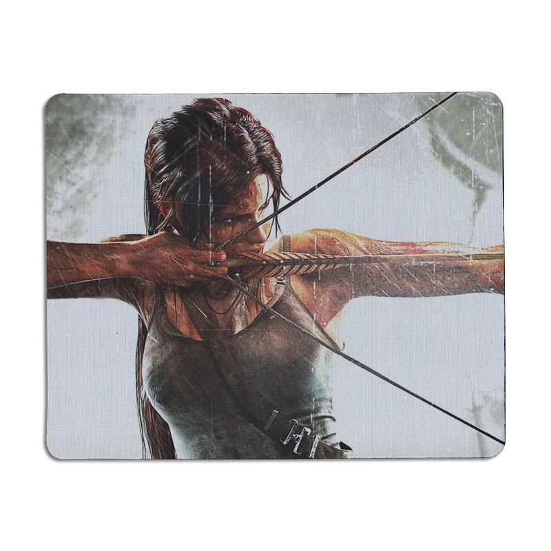 MaiYaCa tomb raider 2012 Game wallpaper Anti-Slip Durable Silicone mat mouse Size for 25X29cm Gaming Mousepads
