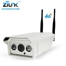 ZILNK 1080P 3G 4G SIM Card Bullet IP Camera 2MP HD P2P Network Waterproof IR Night Vision Support TF Card Onvif Outdoor White