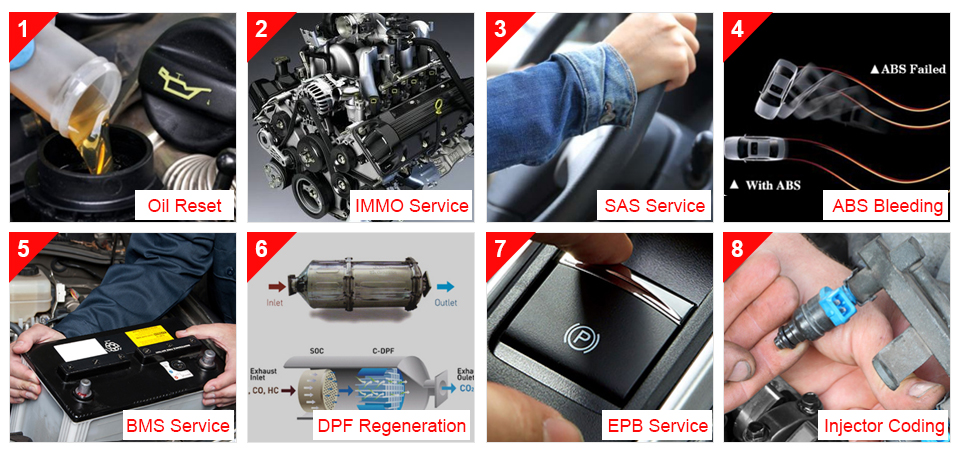 Image 3 - Launch CRP429 Car Diagnostic Tool Automotive Scanner All System Test Auto Scan Tools Autoscanner Diagnostics PK CRP429C MK808-in Code Readers & Scan Tools from Automobiles & Motorcycles on