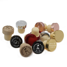 30pcs*Personalized Engraved Wine Stopper Baby Shower Party Decoration Christmas Gift Wedding Favors Customize Any Design