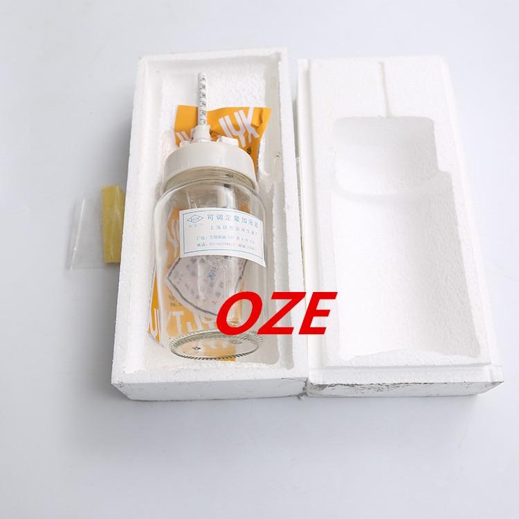 ФОТО 1PCS Clear 1ml/5ml/10ml Laboratory Glass Adjustable Reagent Dispenser Bottle