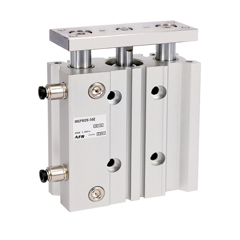 bore 50mm MGPM50-25Z MGPM50-50Z Thin cylinder with rod Three axis three bar Pneumatic components MGPL50-25Z MGPL50-50Z цена
