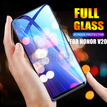 2 adet/grup Temperli Cam Huawei Onur 20 Pro 20 S Görünüm 20 Ekran Koruyucu 9H Anti Bluray Cam onur için V20 koruyucu film