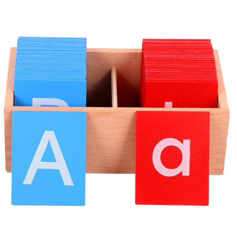 Sandpaper Letter Board Montessori Toy  Montessori Educational Wooden Toys