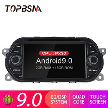 TOPBSNA Android 9.0 Car DVD Multimedia Player For Fiat Tipo Egea Dodge Neon 2015 2016 2017 2018 1 Din Car Radio Stereo Headunit