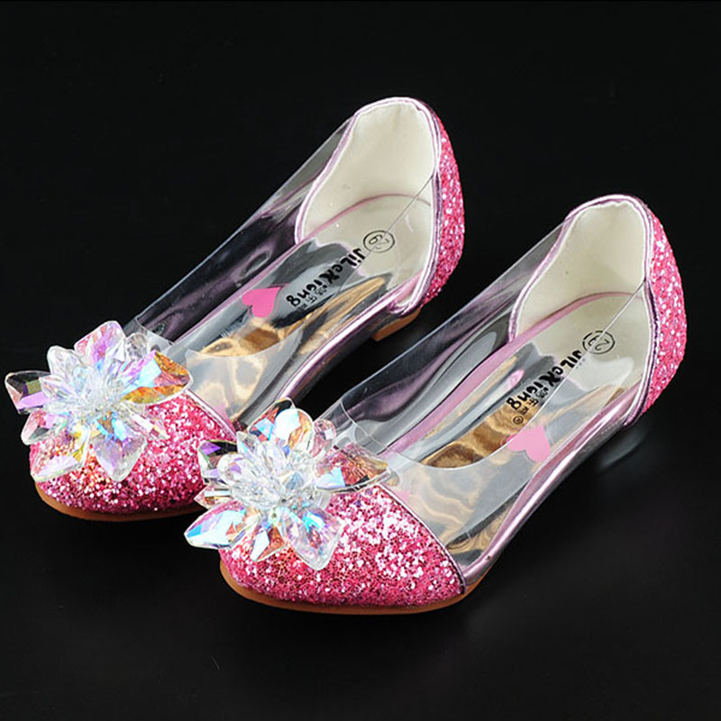 2019 spring new girl princess dance single shoes Colorful diamonds childrens high heels little girl Student performance shoes2019 spring new girl princess dance single shoes Colorful diamonds childrens high heels little girl Student performance shoes
