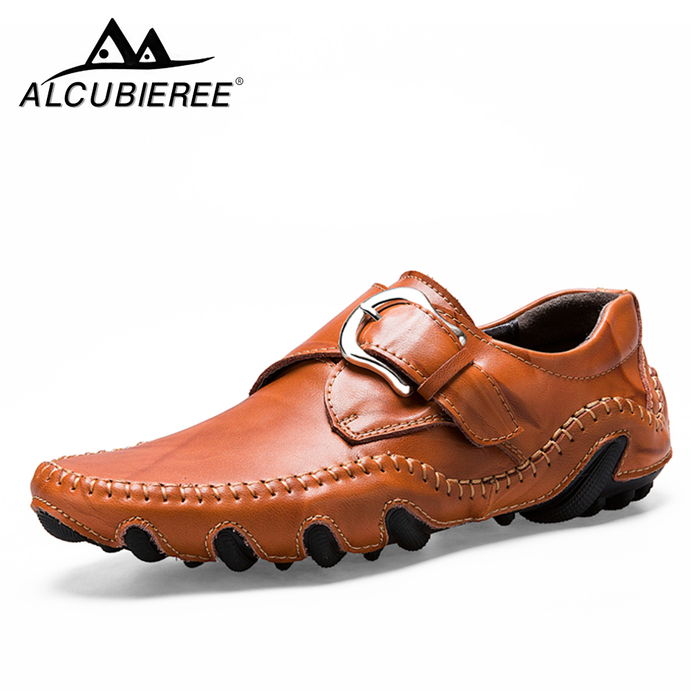 Brand Designer Luxury Loafers Moccasins Men Genuine Leather Sneakers Male Footwear Causal Shoes Men Leather Adult Big Size 38 44 luxury brand designer sneaker men loafers moccasins genuine leather casual shoes male footwear