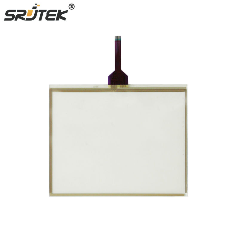 Srjtek 10.4 Inch For G.T GUNZE U.S.P 4.484.038 G-27 8 Wires JAT710 Touch Screen Digitizer Panel Glass
