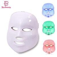 LED Cilt Yüz Maskesi Foton Işık Terapi Kırışıklık Kaldırma Beyazlatma Sıkma Gençleştirme Akne Koyu Spot Skar Tedavisi