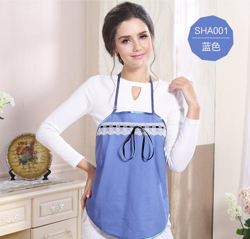 Radiation protective  clothing for pregnant women apron,Ladies summer cool apparel.EMF shelding.