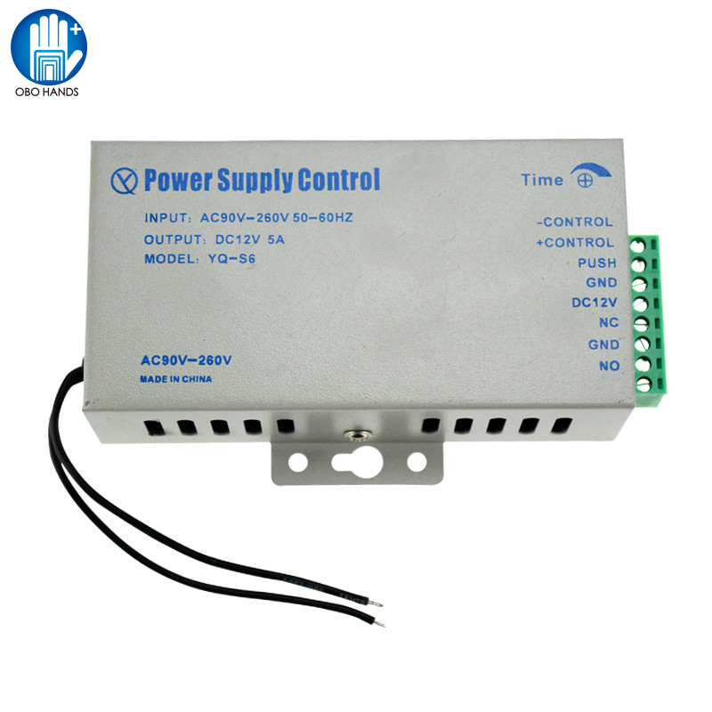 High Quality Of DC 12V 5A Power Supply for Access Control System Kit Switch Electric Power handbook of quality control tests for sterile products
