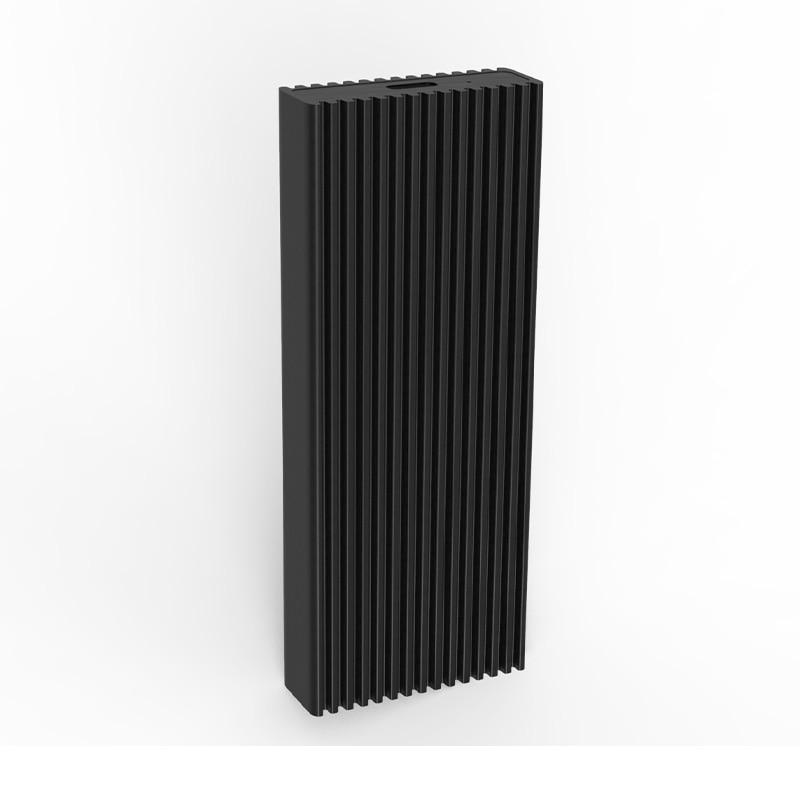 Blueendless PCle NVME M.2 ssd hard disk cases type c port high speed transmission hard drive enclosure black aluminum hdd