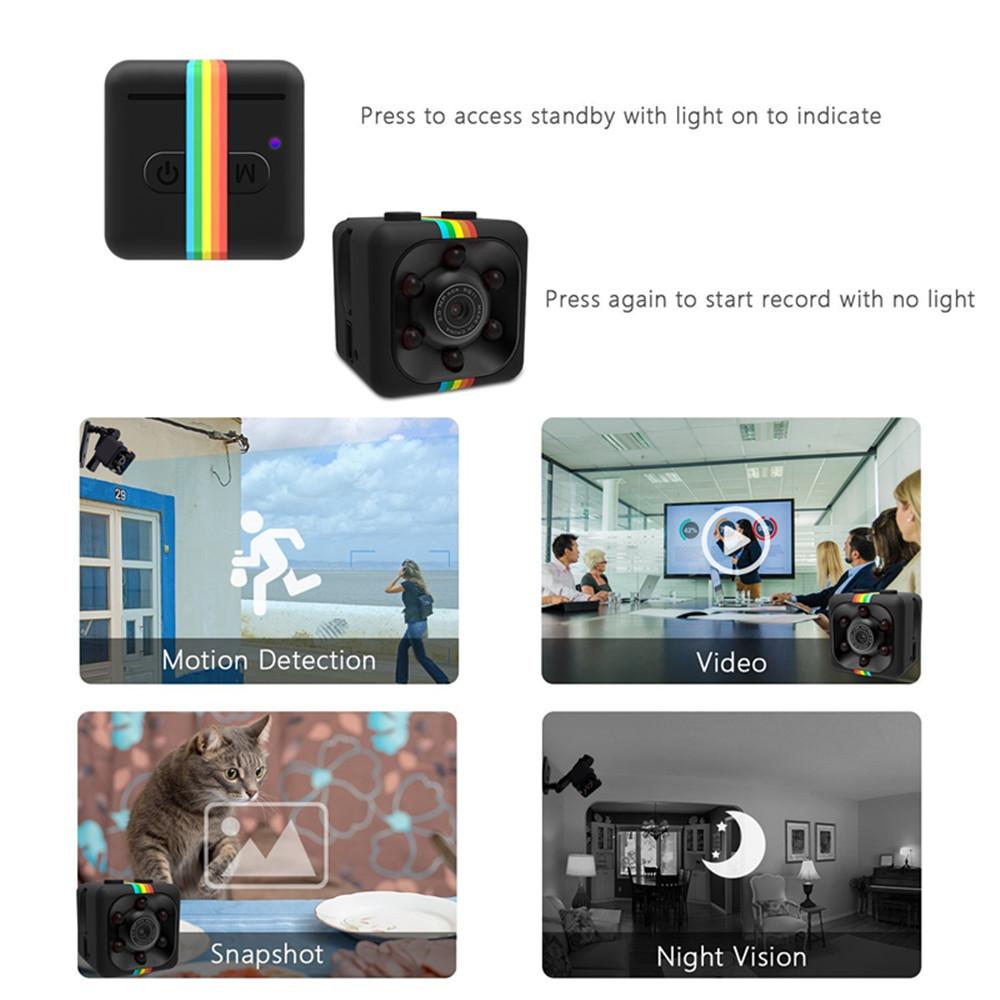 SQ11 mini cámara HD 960P 4