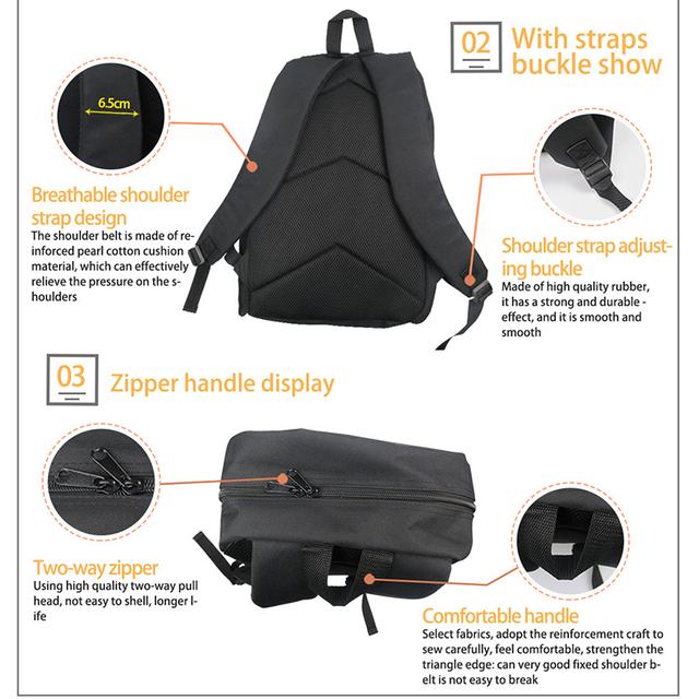 School Yorkshire Terrier Patterned Backpack