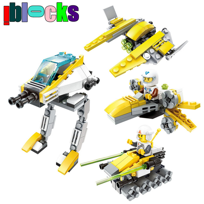 Star Wars Navy Figures Robotic Fighter Constructing Blocks Set Appropriate With LEGO Enlighten Bricks Youngsters Academic Toys Boy