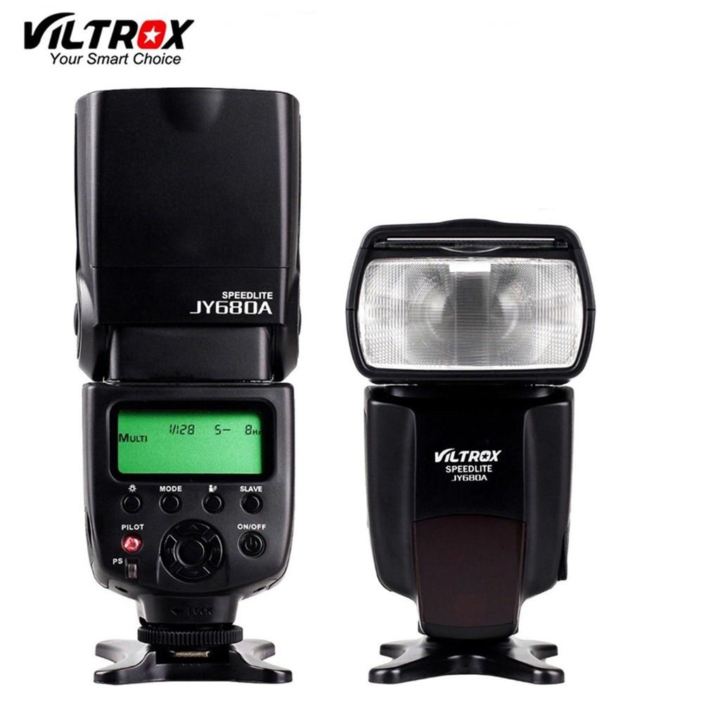 VILTROX JY-680A Universal Camera LCD Flash Speedlite for Canon 1300D 1200D 760D 750D 80D 5D IV 7D Nikon 7200D 5500D 5D 610D 750D viltrox jy 680a universal camera lcd flash speedlite for canon 1300d 1200d 760d 750d 700d 600d 70d 60d 80d 5d ii 7d dslr