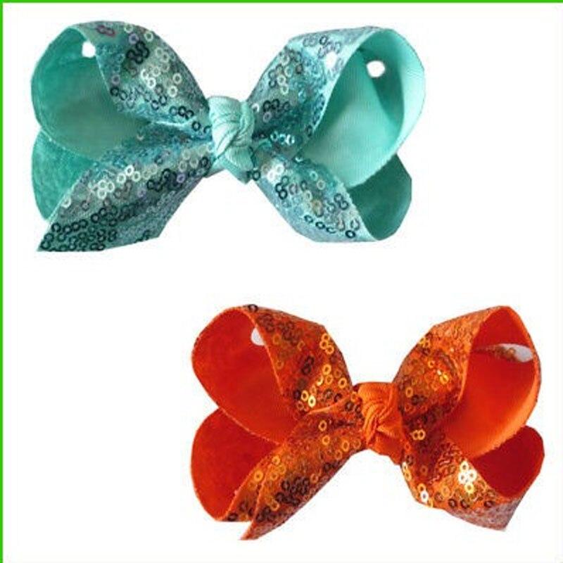 Articles pour bébé Vêtements et accessoires pour bébé 100 bénédiction Good Girl hairbow 4.5 Double ABC Organza bow clip Wholesale