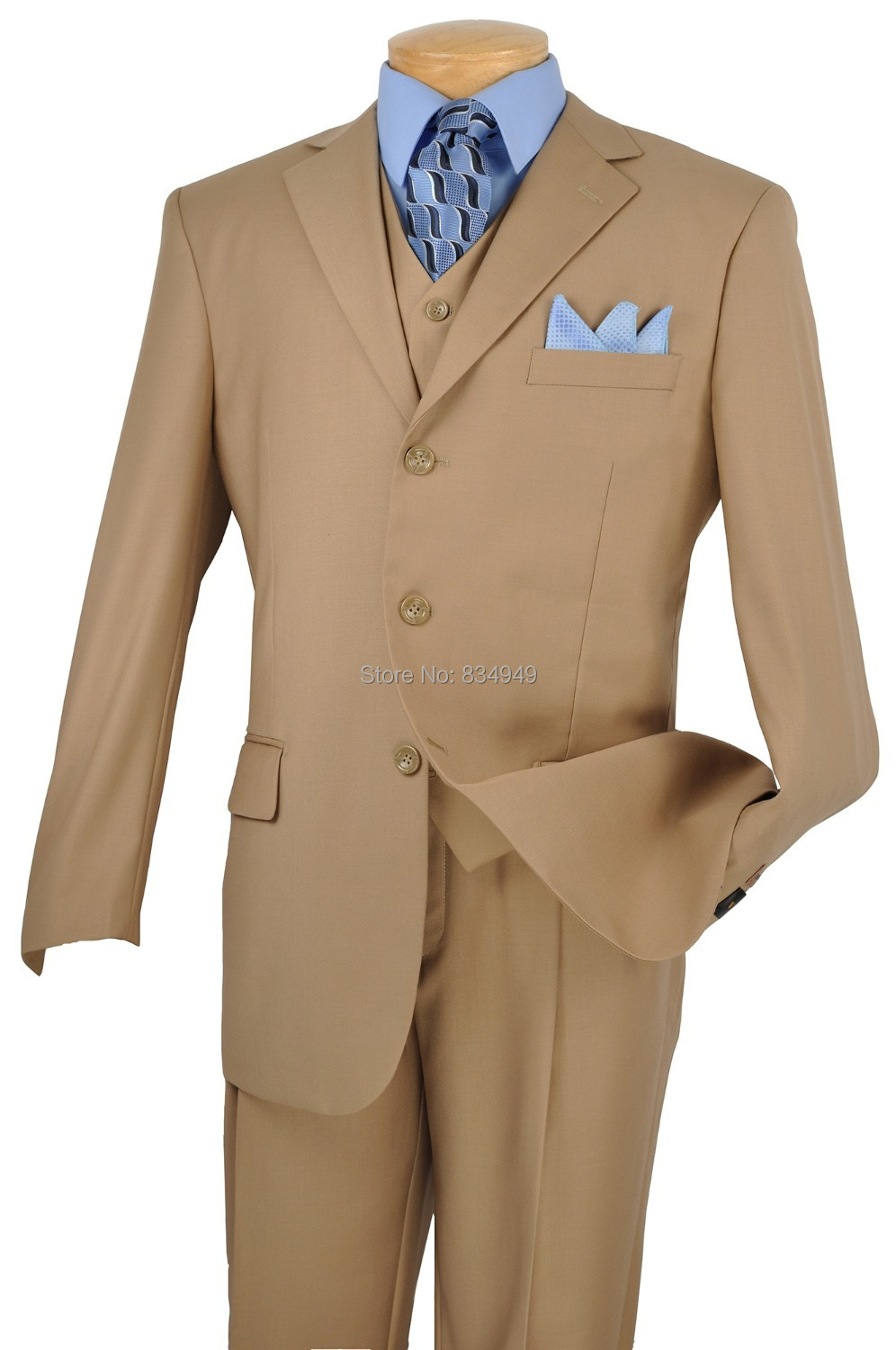 Popular Light Brown Suit for Men-Buy Cheap Light Brown Suit for