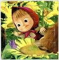 Милые Марта Медведь Мультфильм деревянные головоломки головоломки 5 Стиль