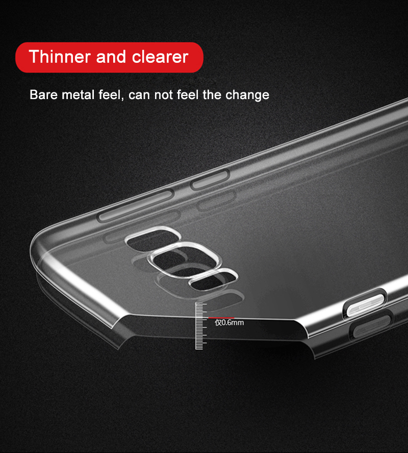 Clear Samsung Galaxy S3, S4, S5 Case 10