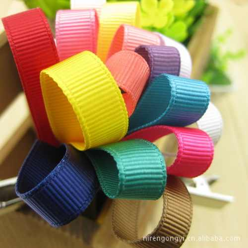 (1 meter price ) 10mm high- rib belt 22 color ribbons DIY handmade accessories wholesale lace fabric